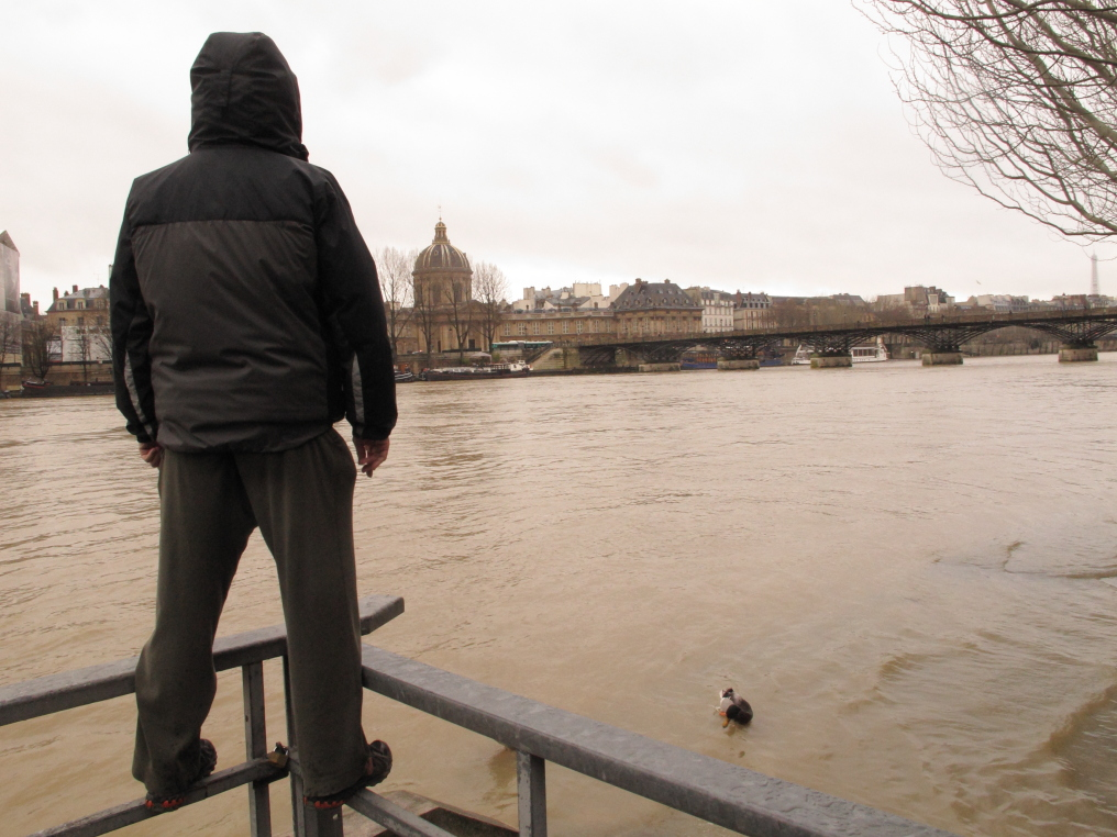 Seine, Paris, David Downie