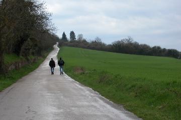 Vezelay pilgrimage, Asquins