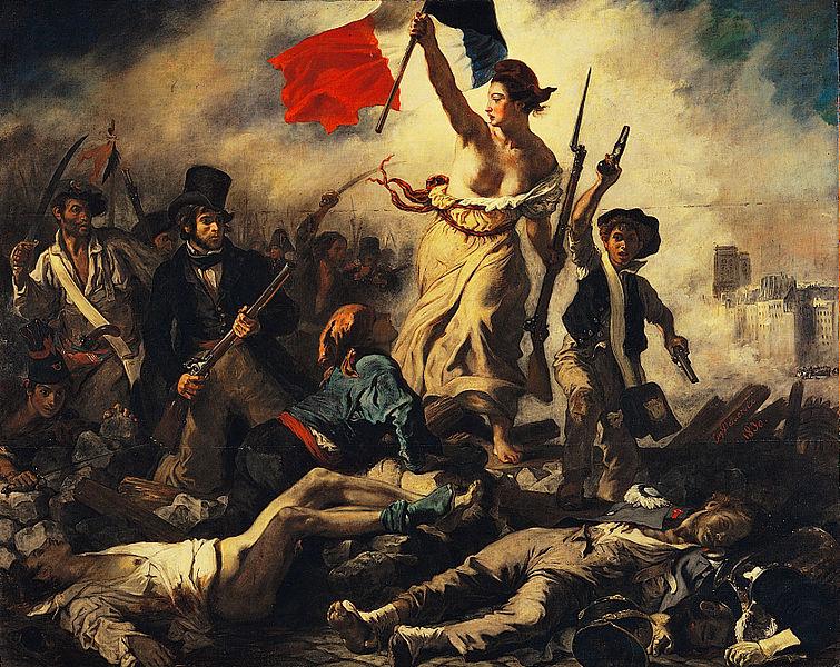 1830 Delacroix La_liberté_guidant_le_peuple
