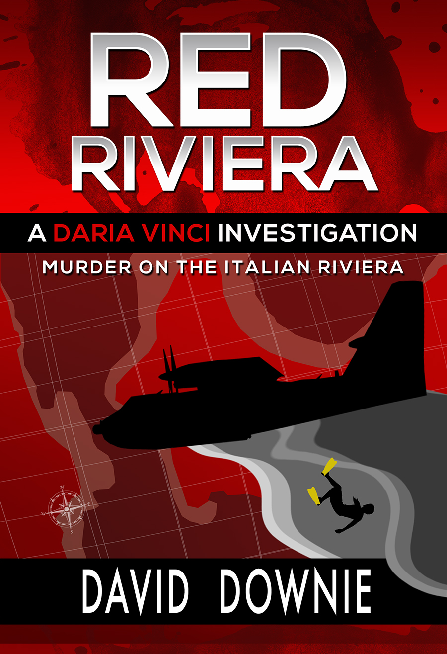 Red Riviera, murder on the Italian Riviera. Commissioner Daria Vinci
