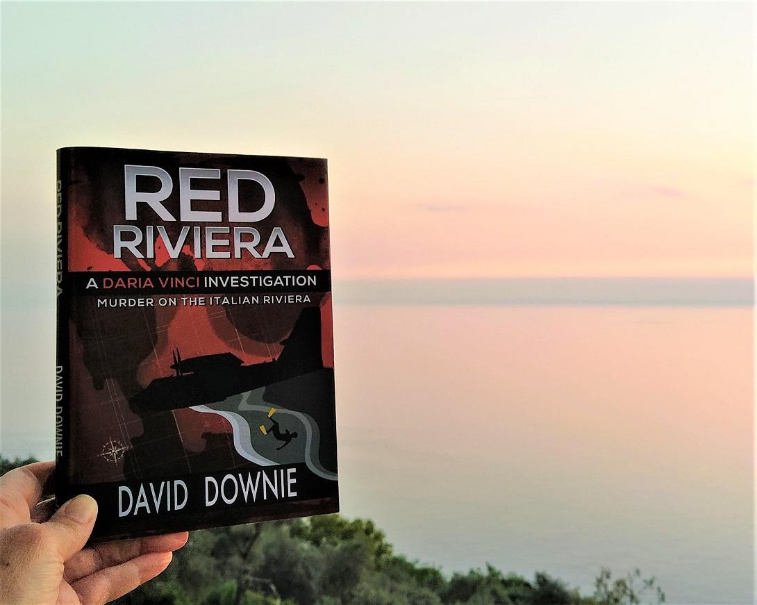 Red Riviera, a Daria Vinci Investigation, set on the Italian Riviera... accident or murder?