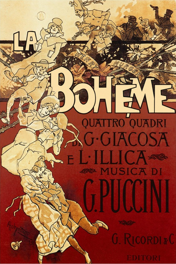 A Passion for Paris, La Boheme, Henri Murger, Puccini