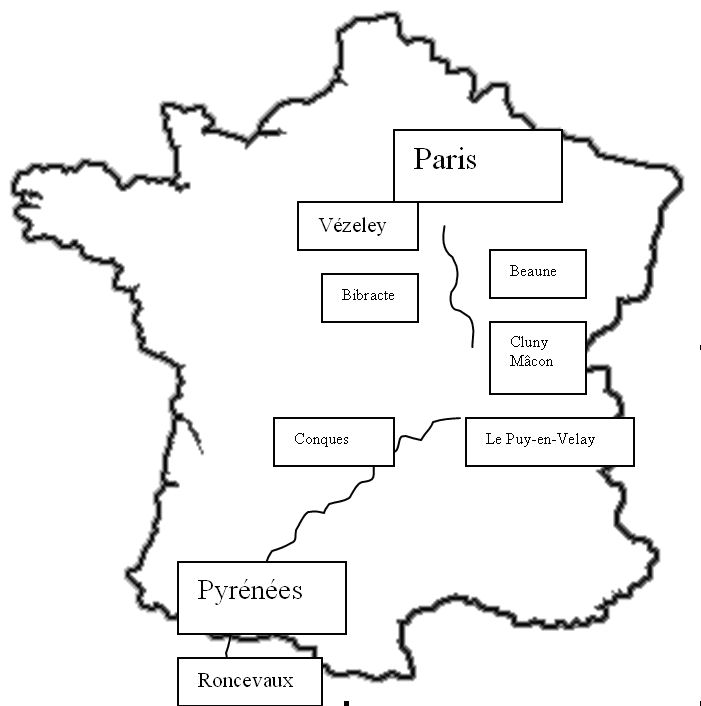 Vezelay France Map.David D Downie Paris To The Pyrenees From A Traveler S Notebooks